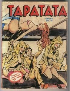 Εξώφυλλο περιοδικού Ταρατατά.
