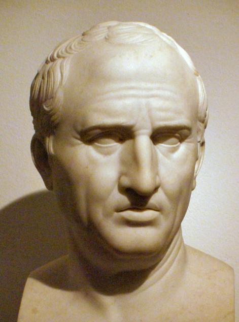 Ο Μάρκος Τύλλιος Κικέρωνας (γνωστός και απλά ως Κικέρων, στα λατινικά Marcus Tullius Cicero, 3 Ιανουαρίου 106 π.Χ. - 7 Δεκεμβρίου 43 π.Χ.) ήταν ρήτορας και πολιτικός που έζησε στα τέλη της Ρωμαϊκής Δημοκρατίας. Θεωρείται ευρέως ως ένας από τους μεγαλύτερους ρήτορες και συγγραφείς στη λατινική γλώσσα.