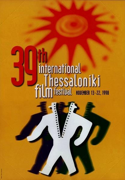 39ο Φεστιβάλ Κινηματογράφου Θεσσαλονίκης Γεγονός: 39o Φεστιβάλ Κινηματογράφου Θεσσαλονίκης Επίσημη αφίσα της διοργάνωσης.