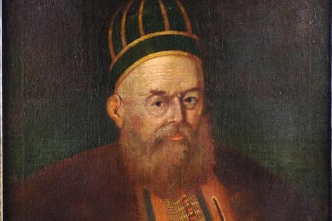 Πορτραίτο Αλί Πασά, του ζωγράφου Σπυρίδωνα Βεντούρα. Ένα από τα ελάχιστα πορτραίτα που έχουν γίνει στη διάρκεια της ζωής του.