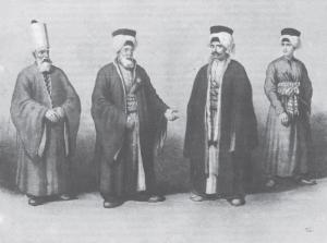 Αξιωματούχοι της οθωμανικής Πύλης.