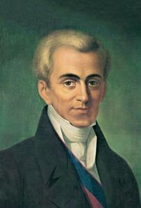Ιωάννης Καποδίστριας / Giovanni Capo d'Istria: ο πρώτος κυβερνήτης της Ελλάδας (Ι)