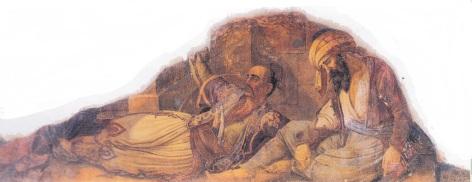 Η Επανάσταση στην Πάτρα. Τοιχογραφία στην αίθουσα Ελευθέριος Βενιζέλος, Βουλή των Ελλήνων