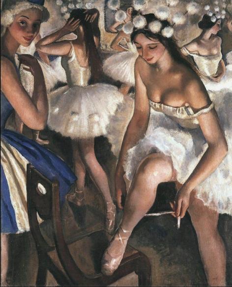 erebriakova, Zinaida (1884-1967) Ballet dancers - 1916
