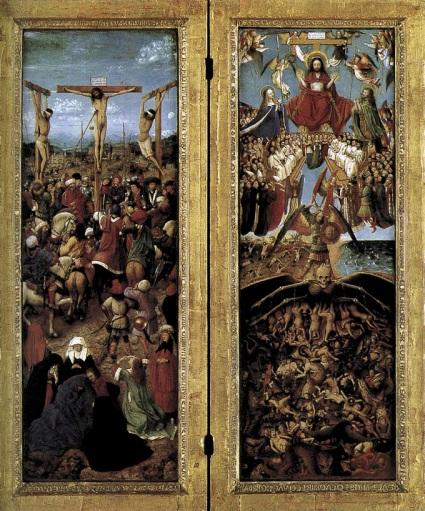 Diptych by Jan Van Eyck, 1420-1425